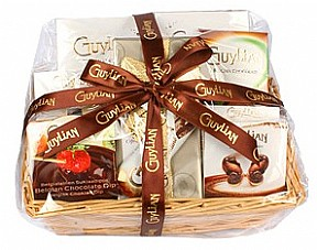 Special Occasion Chocolate Gift Basket